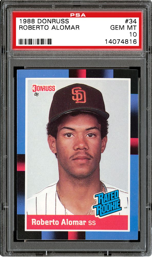 Baseball Cards 1988 Donruss Psa Cardfacts