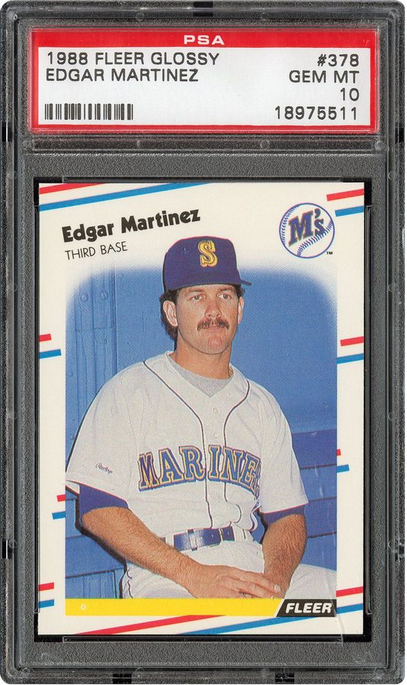 Baseball Cards 1988 Fleer Glossy Psa Cardfacts