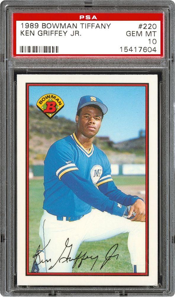Baseball Cards 1989 Bowman Tiffany Psa Cardfacts