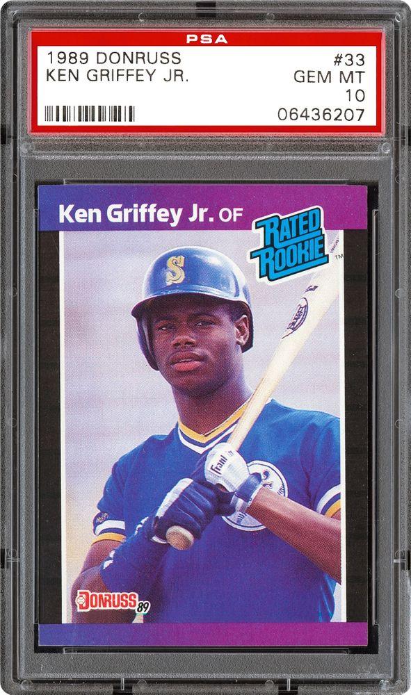 a69d87295c Baseball Cards - 1989 Donruss   PSA CardFacts™