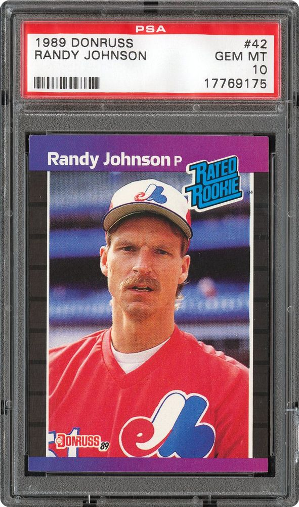 1989 Donruss Randy Johnson Psa Cardfacts