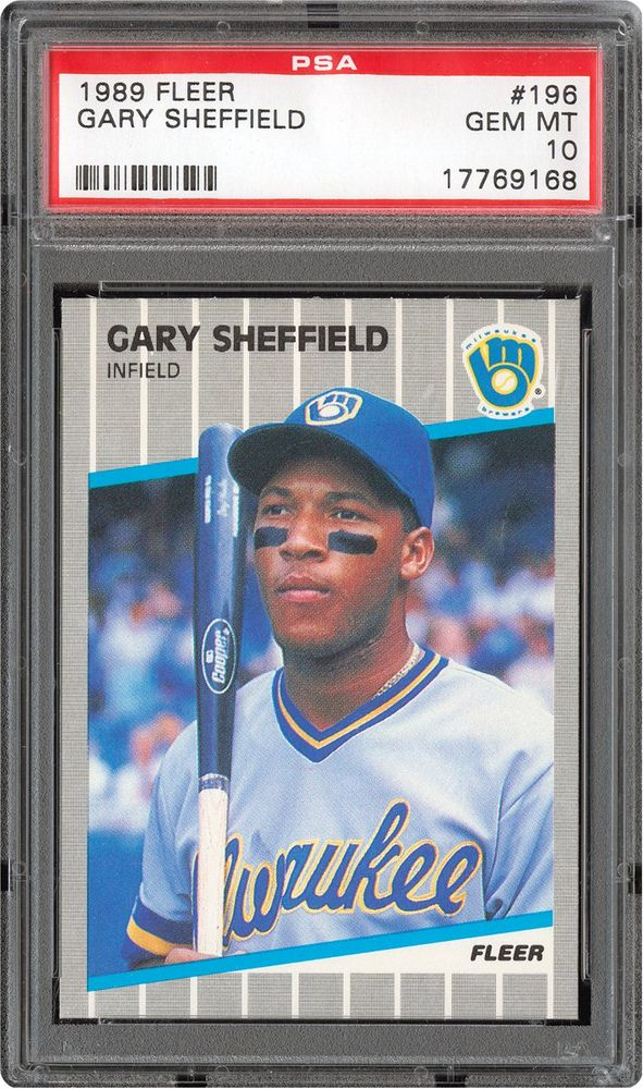1989 Fleer Baseball Cards Psa Smr Price Guide