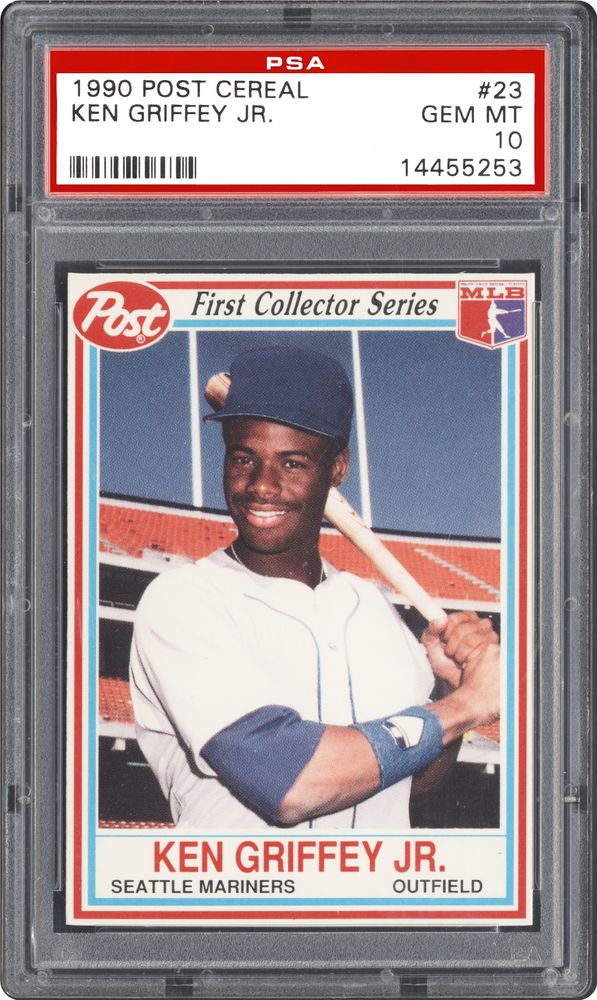 1990 Post Cereal Ken Griffey Jr Psa Cardfacts