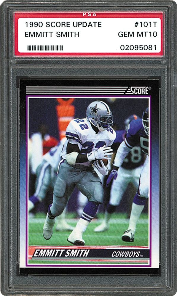 Football Cards 1990 Score Supplemental Psa Cardfacts