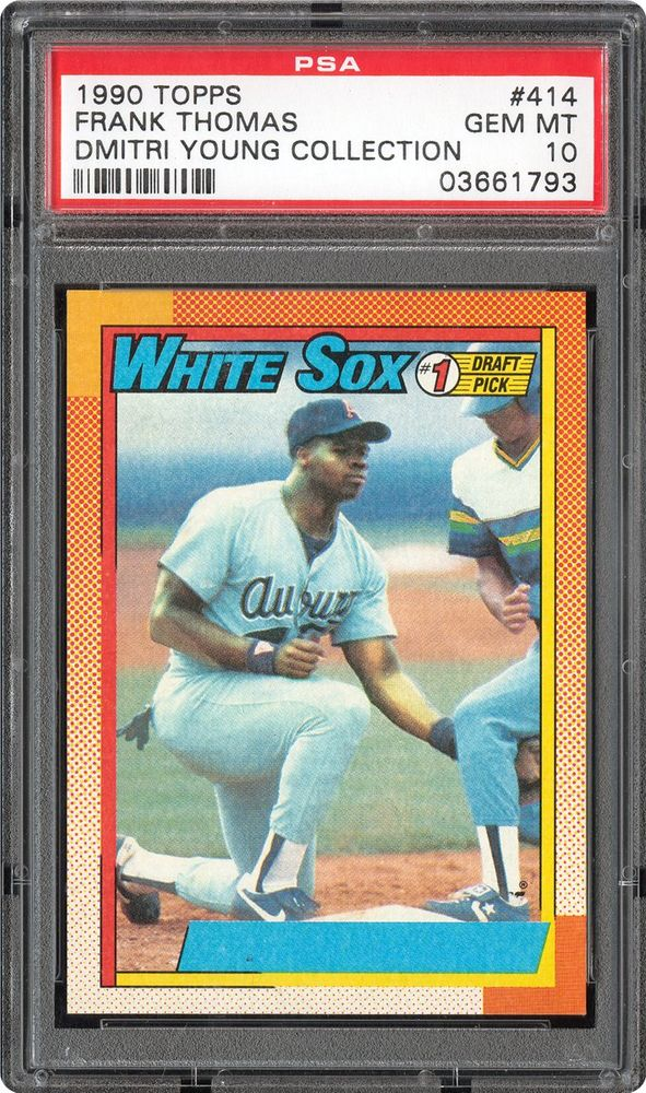 Baseball Cards 1990 Topps Psa Cardfacts