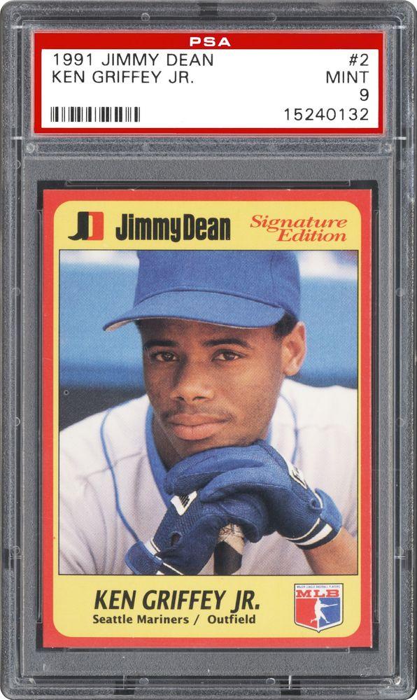 Baseball Cards 1991 Jimmy Dean Psa Cardfacts