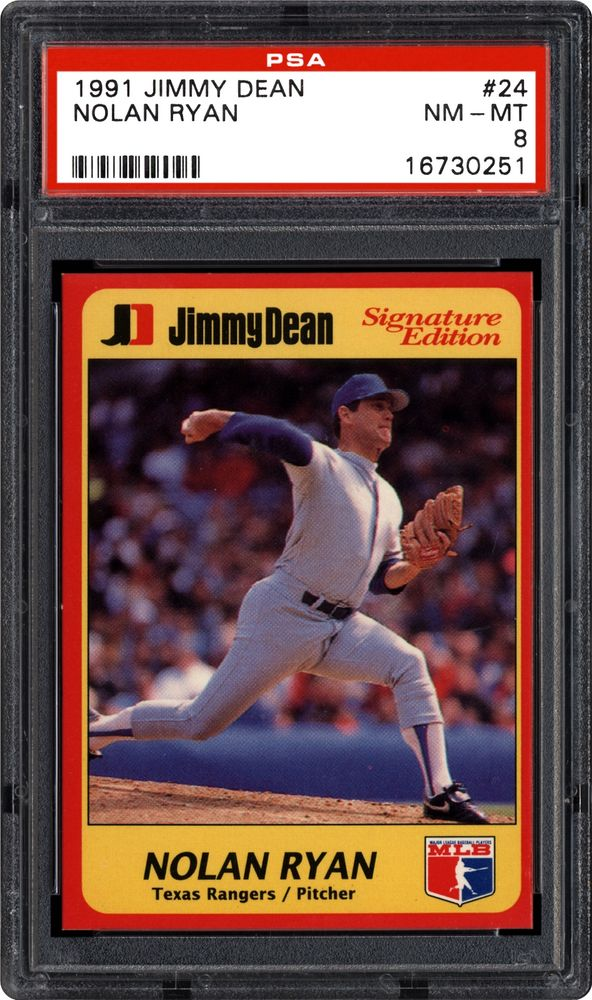 Baseball Cards 1991 Jimmy Dean Images Psa Cardfacts