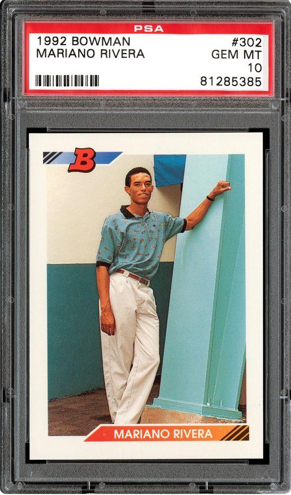 1992 Bowman Mariano Rivera Psa Cardfacts