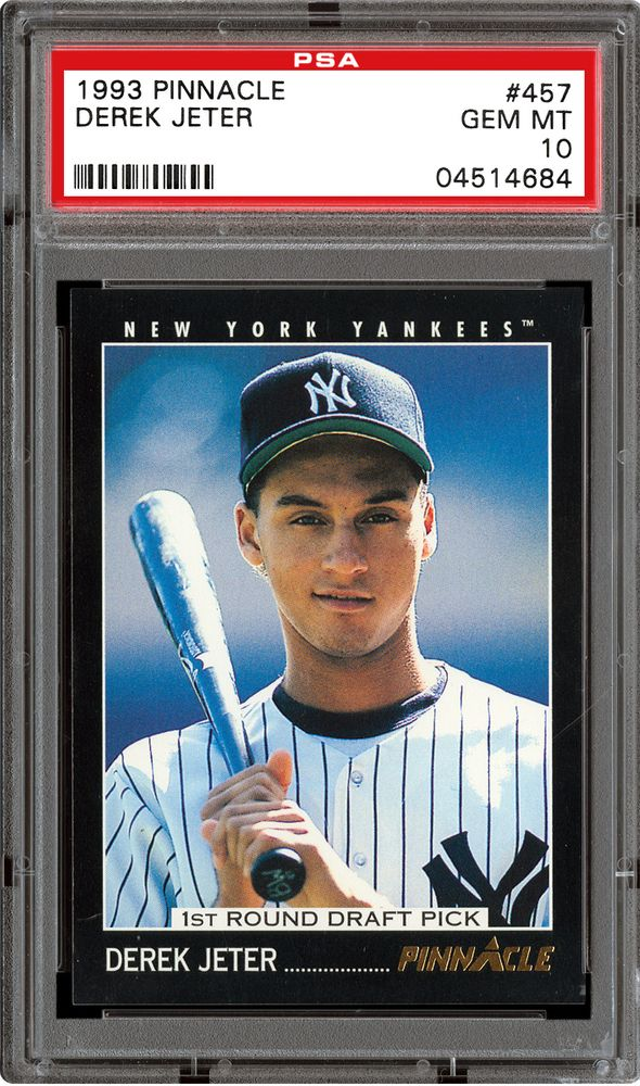 1993 Pinnacle Baseball Cards Psa Smr Price Guide