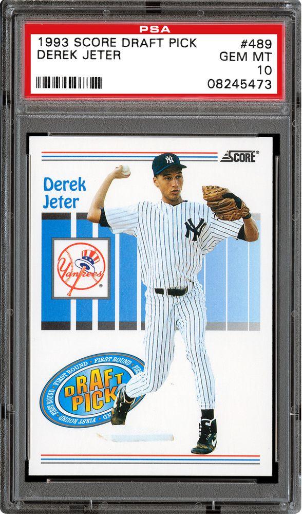 1993 Score Baseball Cards Psa Smr Price Guide
