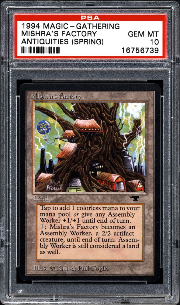 1x Antiquities Mishra/'s Factory Spring MP English Magic the Gathering MtG