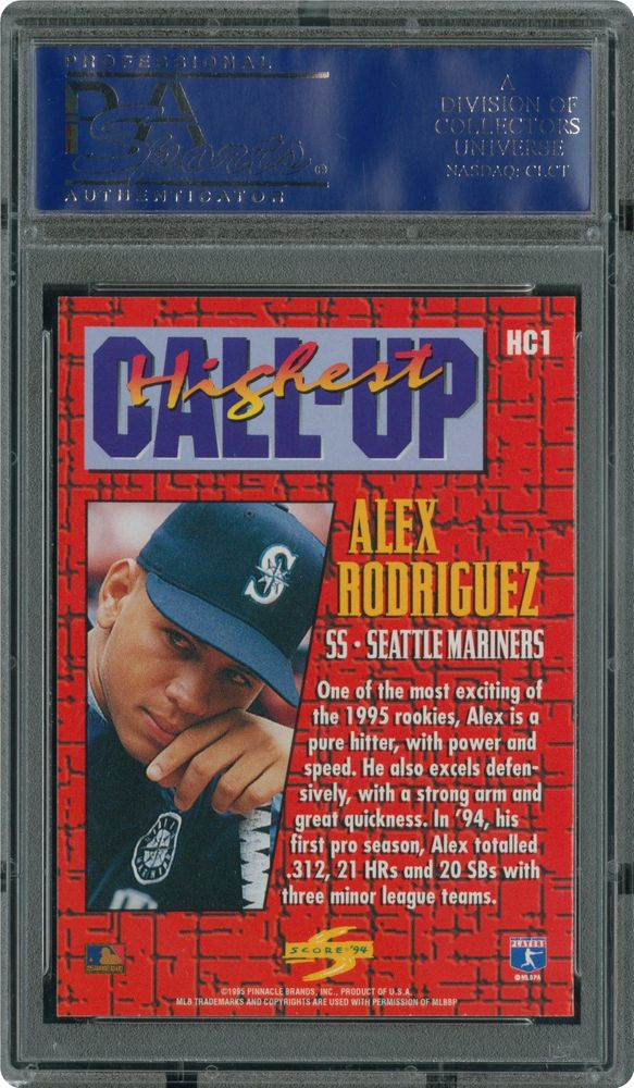 Image Result For Alex Rodriguez Rookie Cards Value
