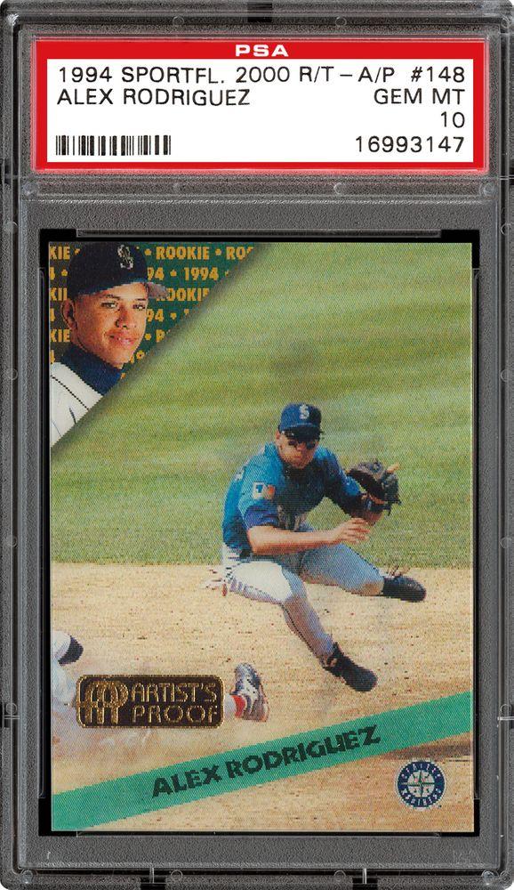 Baseball Cards 1994 Sportflics 2000 Rookietraded Psa Cardfacts
