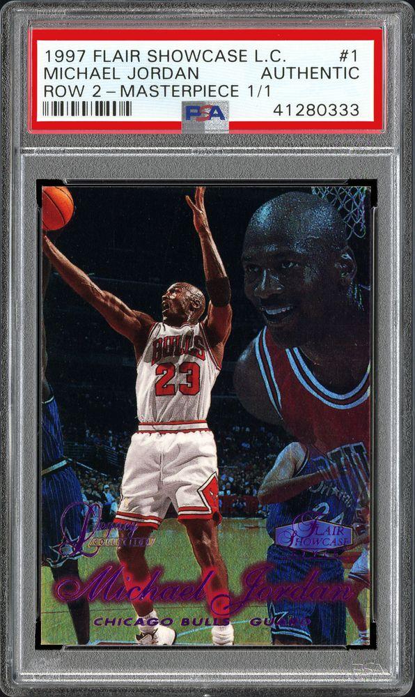 e71756fe9bc Basketball Cards - 1997 Flair Showcase Legacy Collection