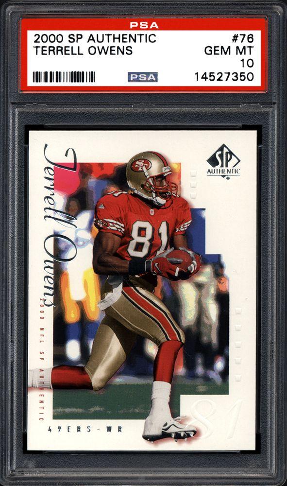 e01ada6f3 Terrell Owens - 2000 SP Authentic
