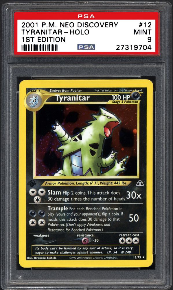 LARVITAR #57 ** COMMON** MINT** POKEMON NEO DISCOVERY 1ST EDITION