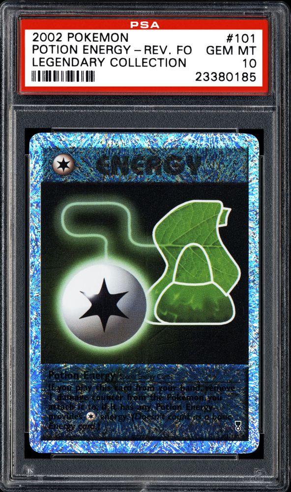 2002 Nintendo Pokemon Legendary Collection Potion Energy