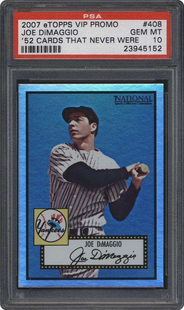 Baseball Cards 2007 Topps Etopps Cards That Never Were