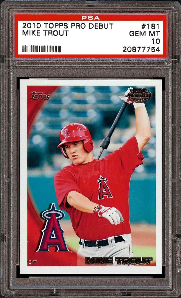 2010 Topps Pro Debut Baseball Cards - PSA SMR Price Guide