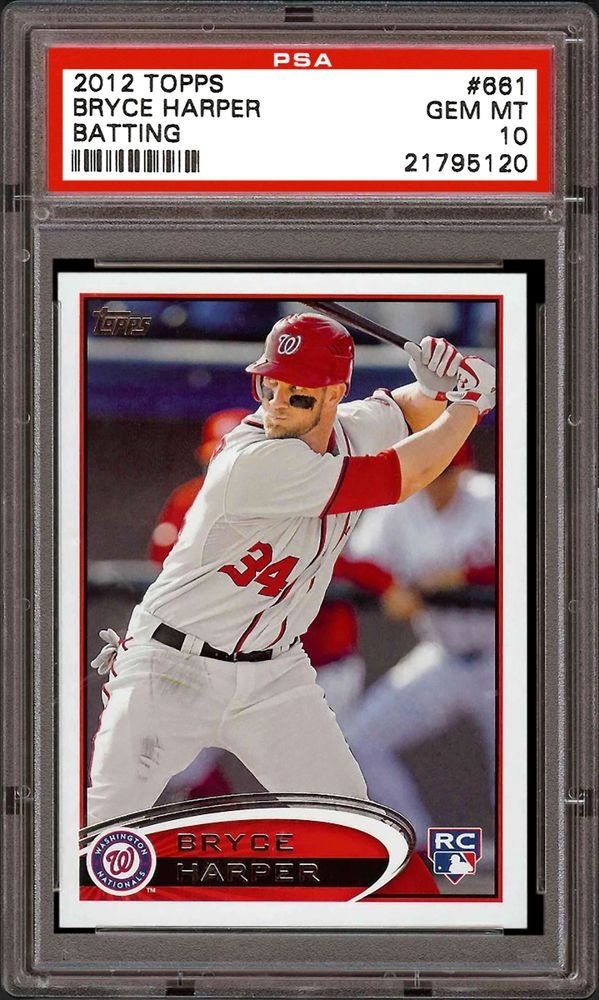 Certified Auto Sales >> 2012 Topps Baseball Cards - PSA SMR Price Guide