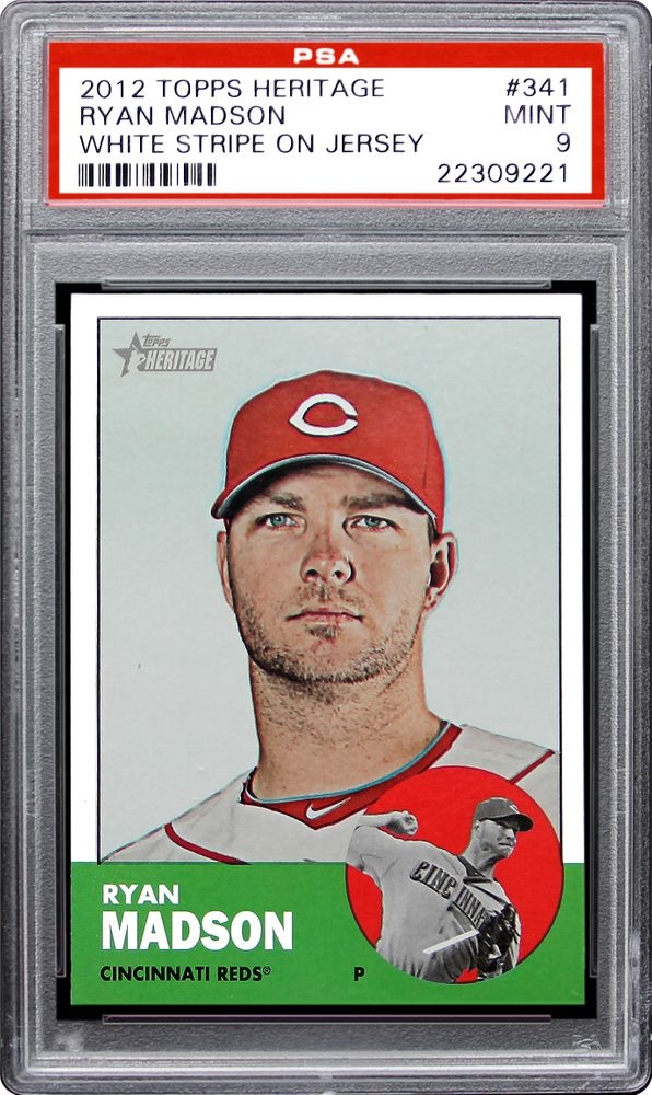 Baseball Cards 2012 Topps Heritage Psa Cardfacts