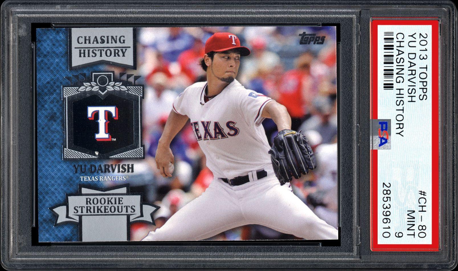 Baseball Cards 2013 Topps Chasing History Psa Cardfacts