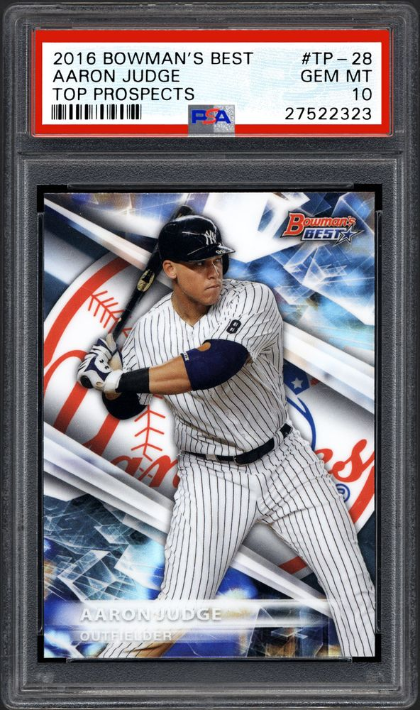 Baseball Cards 2016 Bowmans Best Top Prospects Psa Cardfacts