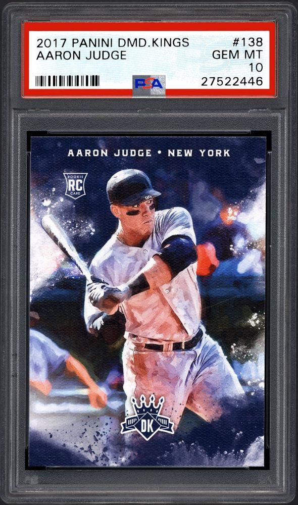 Baseball Cards 2017 Panini Diamond Kings Psa Cardfacts