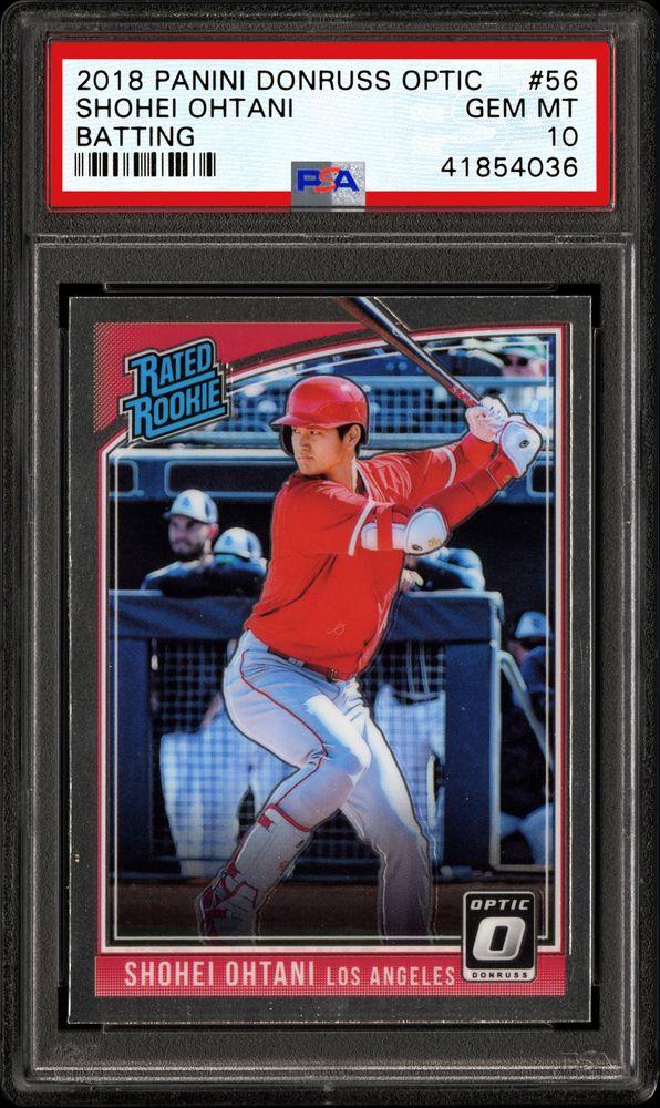 Baseball Cards 2018 Panini Donruss Optic Psa Cardfacts