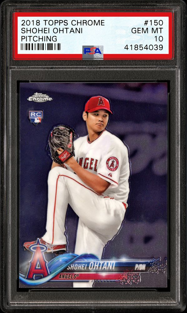 Baseball Cards 2018 Topps Chrome Psa Cardfacts