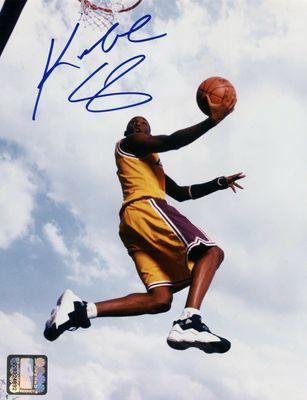 1996 Kobe Bryant Signed Photo