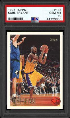 Kobe Bryant 1996 Topps Chrome