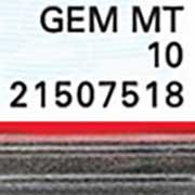 PSA Cert Number detail