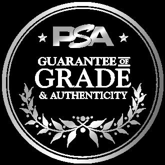 PSA Guarantee seal
