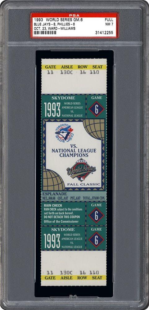 1992 world series game 6